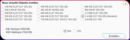 Create Virtual Floppy Disk (Version 2)