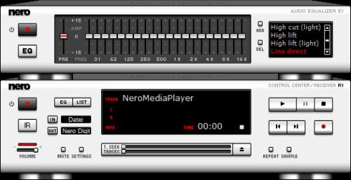 Nero Media Player (Skin: Standard)