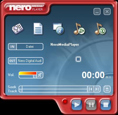 Nero Media Player (Skin: MPStartSmart)